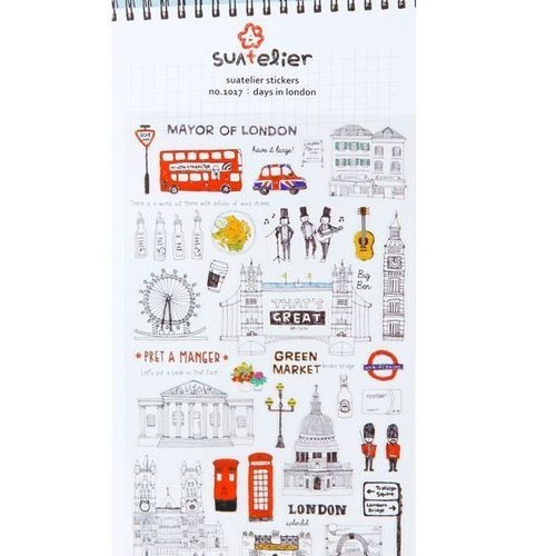 Days in London Deco Sticker