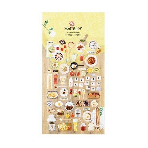Tempting Foods Deco Sticker