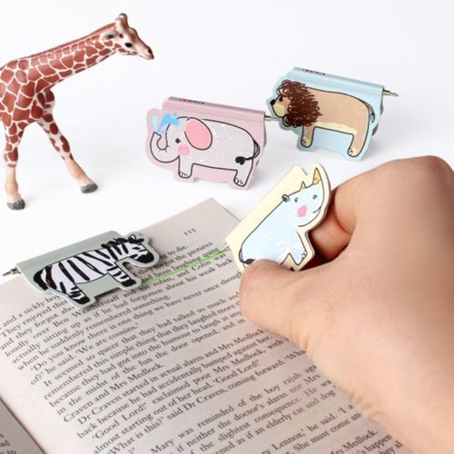 Animal Magnetic Bookmark Pen