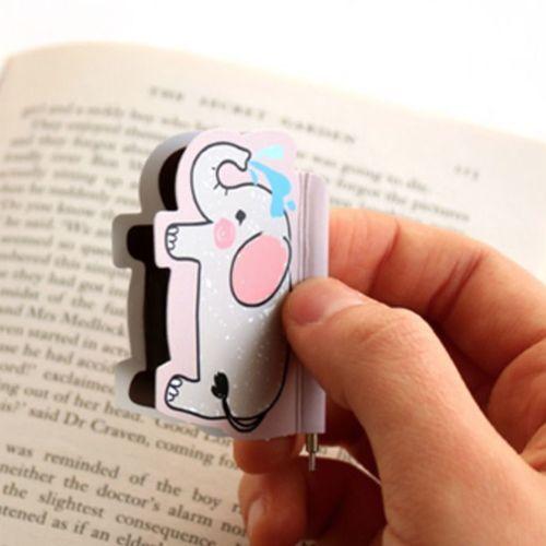 Animal Magnetic Bookmark Pen