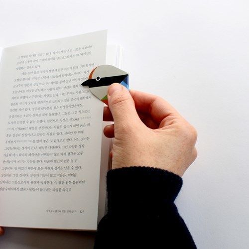 Bird Magnetic Bookmark Pen