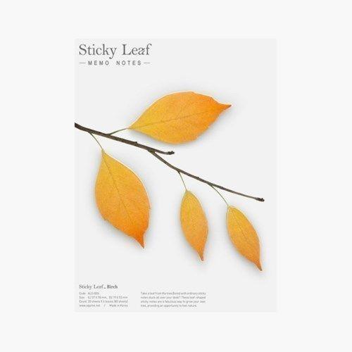 Large Leaf Sticky Note