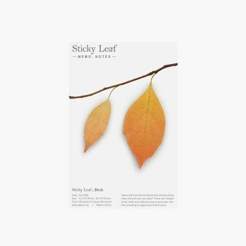 Medium Leaf Sticky Note