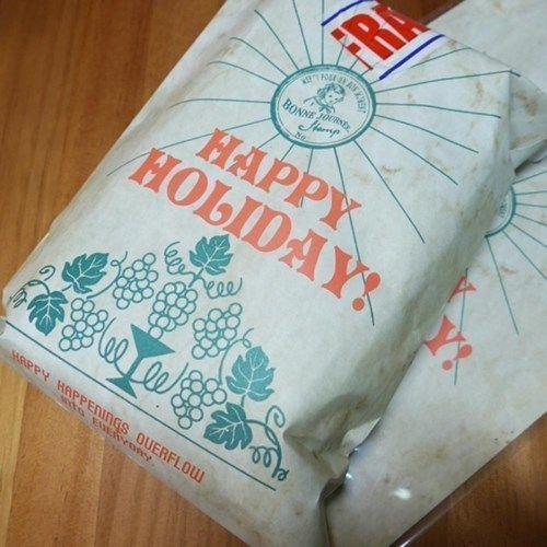Green Vintage Holiday Envelope