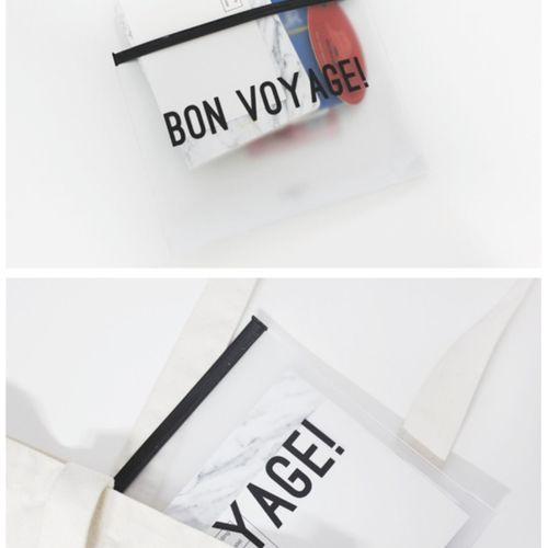 Bon Voyage PVC Pouch