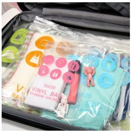 Travel Vinyl Bags (10pcs)