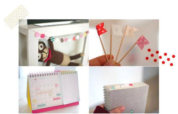 Pastel Masking Sticker Set
