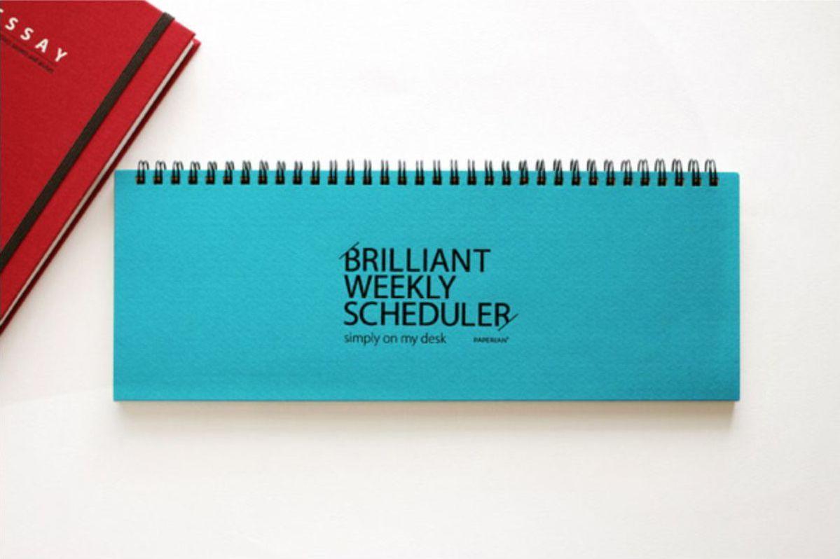 Brilliant Weekly Scheduler