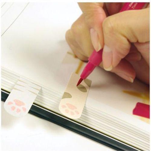 Animal Paw Index Sticky Note Set