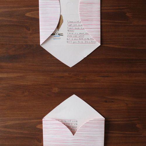 Pink Stripe Love Letter