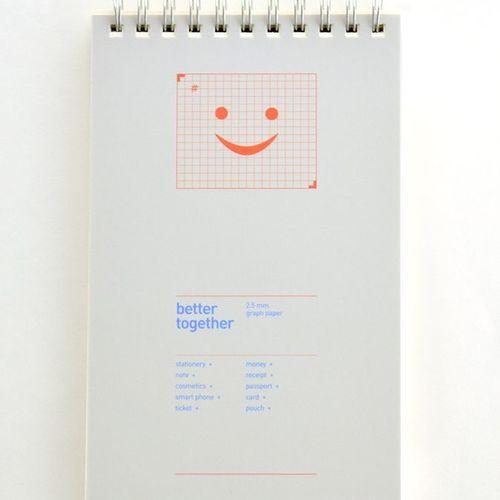 Better Together Grid Notebook