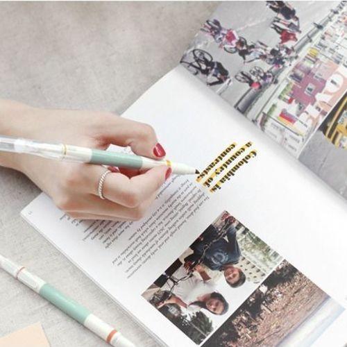 Retro Dual Deco Pen Set