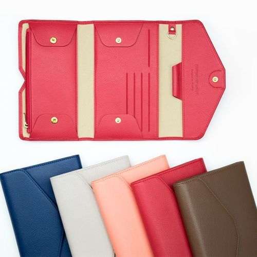All-in-One Leather Pop Clutch