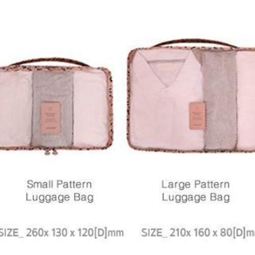 Pattern Ladies Travel Pouch Set