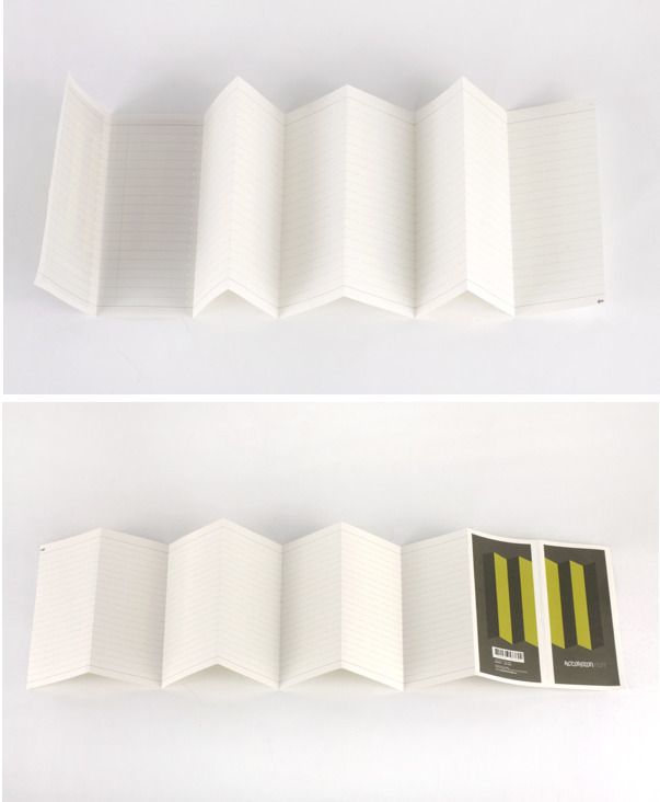 Accordion Notebook Set
