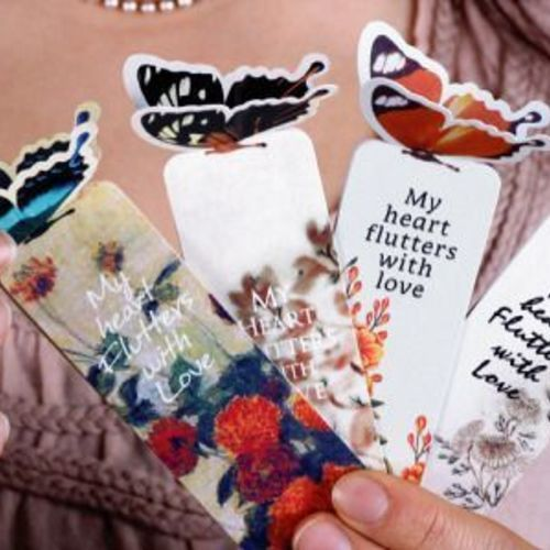 Butterfly Card Bookmark