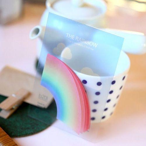 Rainbow Tracing Sticky Note