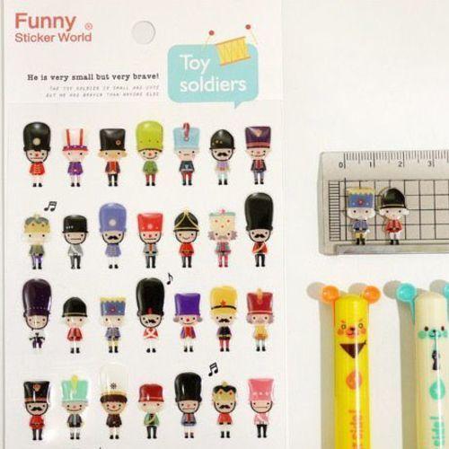 Toy Soldier Deco Sticker