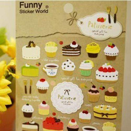 Patisserie Deco Sticker