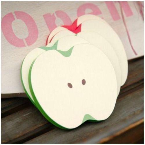 Apple Slice Sticky Note