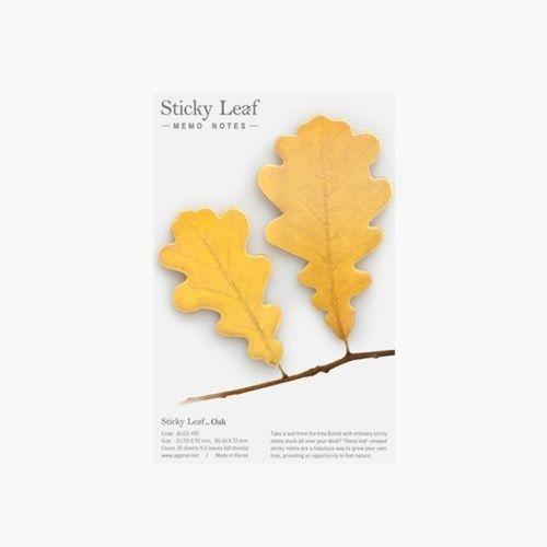 Medium Oak Leaf Sticky Note