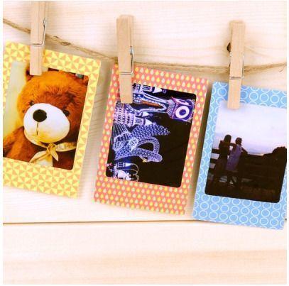 Retro Instax Mini Film Frame Sticker Set