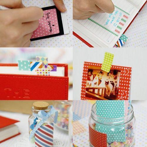 Pastel Instax Mini Film Frame Sticker Set v2