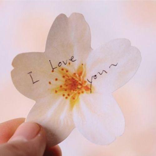 Small Cherry Blossom Sticky Note
