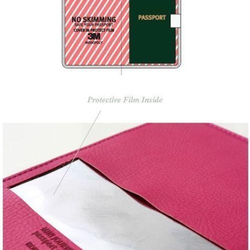 Wanna Be a Traveler Passport Case