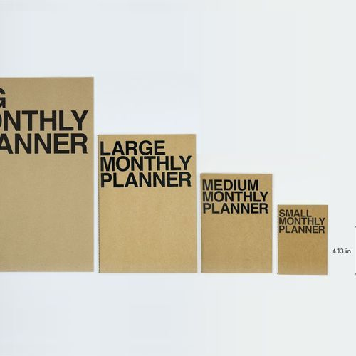 Mini Monthly Planner