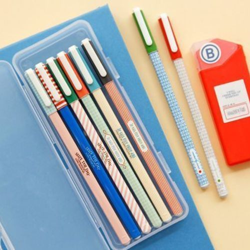 Retro Square Pen