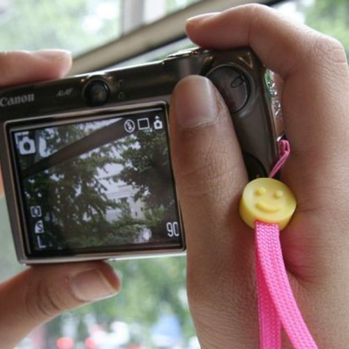 Smile Camera Strap