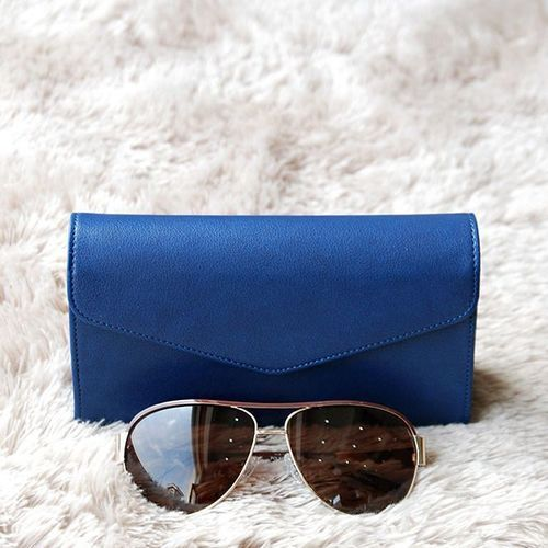 Leather Glasses Clutch