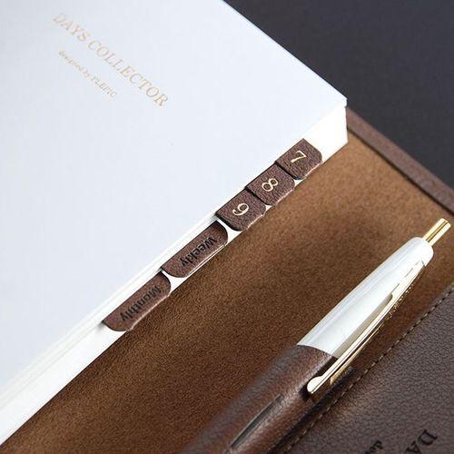Leather Index Sticker
