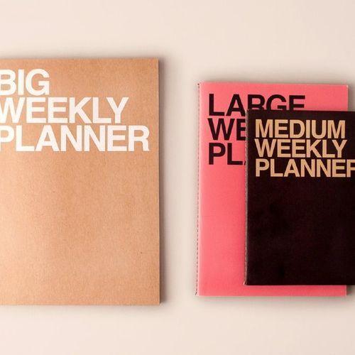 Big Weekly Planner