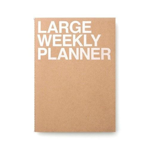Large Weekly Planner
