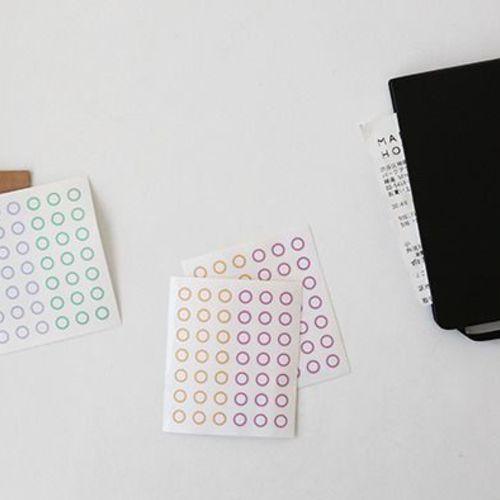 Circle Deco Sticker Set v2