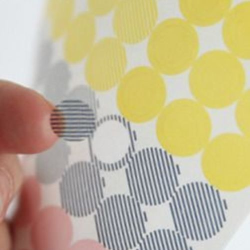 Modern Two-in-one Deco Sticker Set