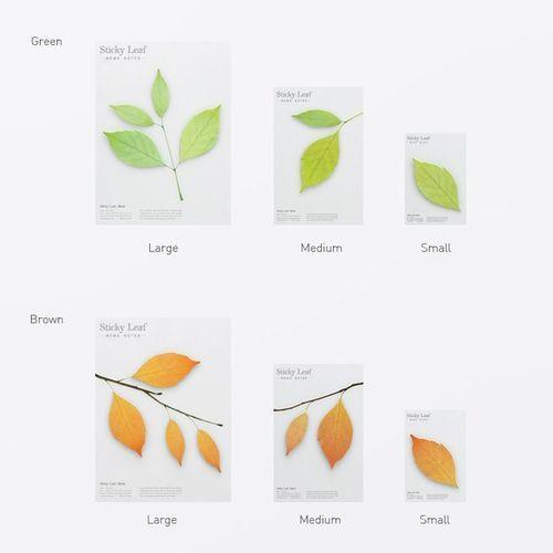 Small Leaf Sticky Note