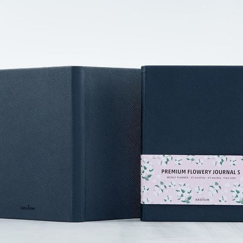 Ardium Premium Flowery Journal
