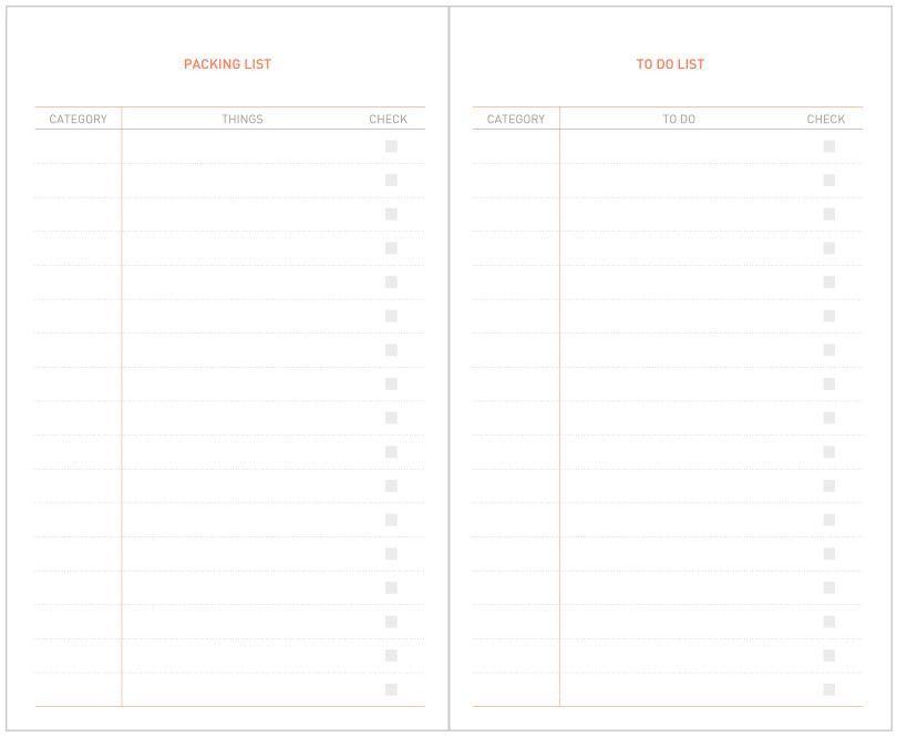 31 Days Planner