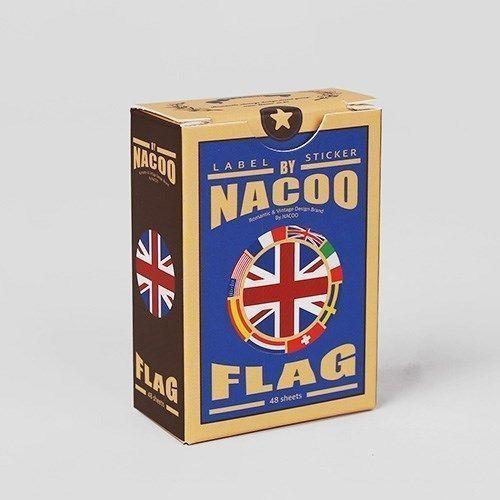Vintage Label Sticker Box