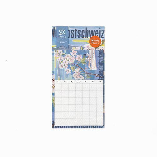 Monthly Schedule Sticker