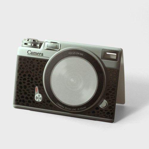 Classic Camera Lens Sticky Note