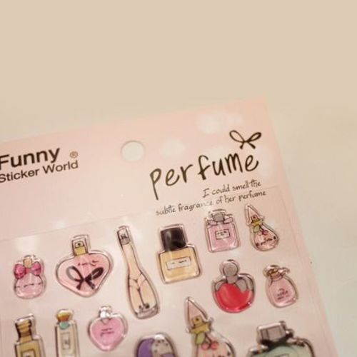 Perfume Epoxy Deco Sticker