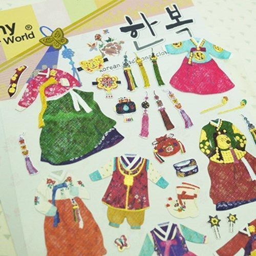 Hanbok Deco Sticker