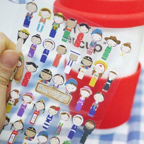 Bon Voyage Deco Sticker v2