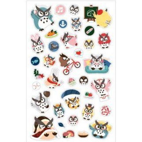 Hello Owl Deco Sticker