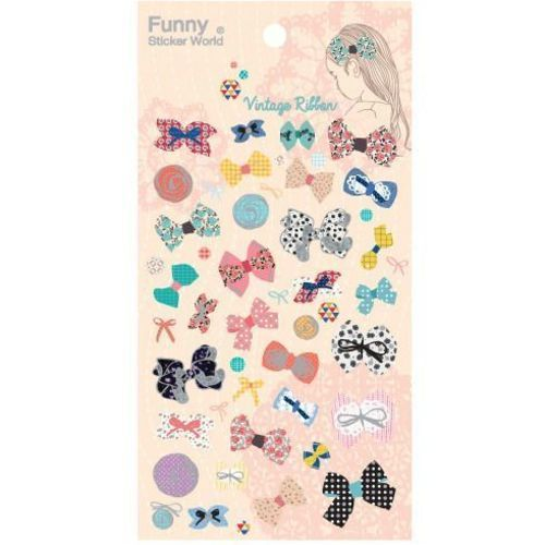 Shiny Fabric Deco Sticker