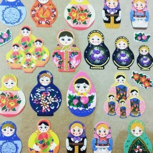 Matryoshka Deco Sticker